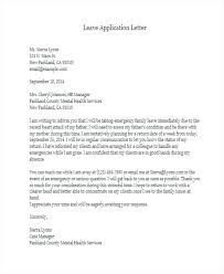 Application For Leave To Manager Request For Vacation Letter Template Official Leave To Manager Fever