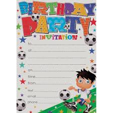 Party Invites Online Creative Party Invitations With Envelopes Pack Of 20