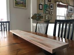 distressed aqua wood tray extra large