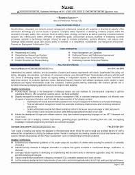 Federal Resume Template Federal Resume Format Template Best Of Military Resume Template 36