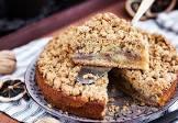 apple ginger streusel coffee cake