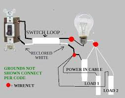 switch loop wiring code switch image wiring diagram switch loop wiring diagram switch home wiring diagrams on switch loop wiring code