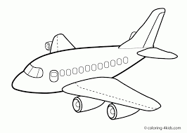 airplane drawing for kids. Brilliant Drawing Draw An Airplane Drawing For Kids Free Download Clip Art  Pictures And L