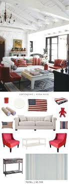 Red And Blue Living Room 25 Best Ideas About Americana Living Rooms On Pinterest Rustic