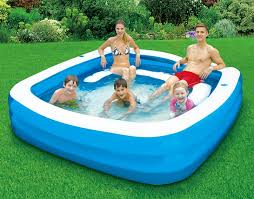 deluxe square party pool backyard ocean