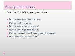 opinion essay examples co opinion essay examples