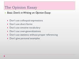 opinion essay examples co opinion essay examples