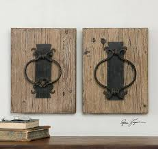 unique wall art pieces shop for uttermost rustic door knockers wall art and other accessories at on unique wall art cheap with unique wall art pieces shop for uttermost rustic door knockers wall