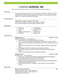 Example Of A Good Resume Format