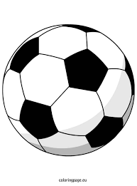 Small Picture Soccer ball Coloring Page