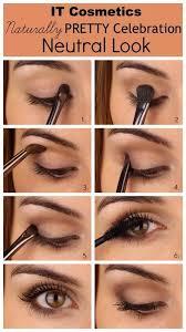 natural brown eyes makeup look