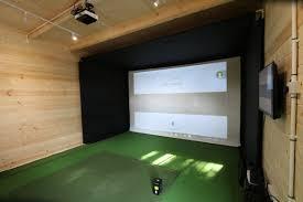 Golf Simulator Lighting Pyecombe Golf Clubs New Skytrak Golf Cabin Golf Academy