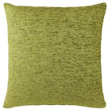 plain chenille luxury large sofa cushion covers lime green