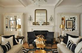 Lovely ... Ideas CelerieKembleOnMartha 060a Black White And Gold Living Room Decor L   ...