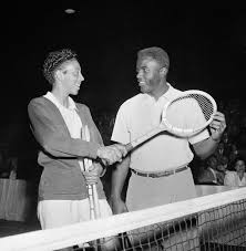 Watch: Althea Gibson was the first black player to compete at Wimbledon |  by Timeline | Timeline
