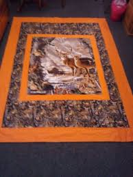 122 best Quilts - Panel images on Pinterest | Quilt patterns ... & Dustins camo quilt Adamdwight.com