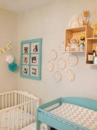 painted baby furniture. A Sweet Blue And Yellow Nursery Painted Baby Furniture