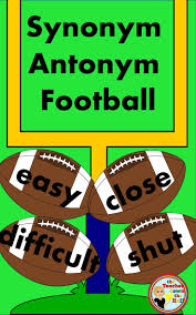 best ideas about synonym for reveal avatar students will love reviewing their synonyms and antonyms while playing football their classmates