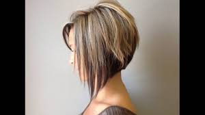 Graduated Bob Hairstyles Graduated Bob Hairstyle Is Sexy For Round Faces Short Hair Youtube