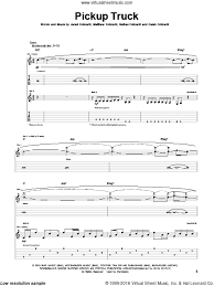 Leon - Pickup Truck sheet music for guitar (tablature) [PDF]