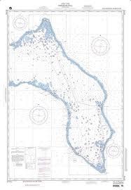 Nga Chart 81715 Kwajalein Atoll Marshall Islands