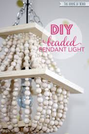 i am in love with this diy beaded light fixture tutorial at jenwoodhouse