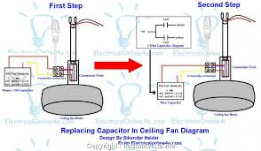 expert ceiling fan 3 wire capacitor wiring diagram ceiling fan wiring diagram with capacitor hastalavista me