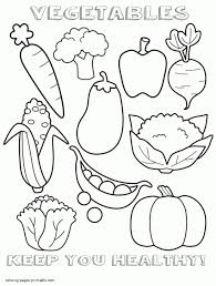 Cute Food Coloring Sheets Pages Of Free Printable For Kids Download