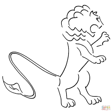 Small Picture Coloring Page Lion Wallpaper Download cucumberpresscom