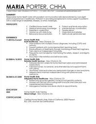 Home Health Aide Sample Resume Magnificent Home Health Aide Resume Objective