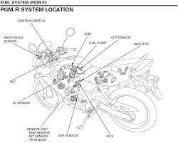 Cbr125r pgm fi fuel injection ponents