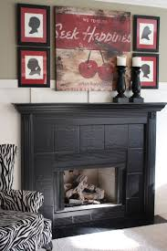 Tile Fireplace Makeover The Yellow Cape Cod 31 Days Of Character Building Builder