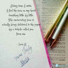 How To Write A Quote Beauteous Every Time I Write I Fee Quotes Writings By Sneha R YourQuote