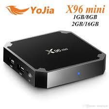 EU Tax Free X96 Mini Android 7.1 TV BOX 1GB8GB 2GB16GB Amlogic S905W Quad  Core Smart TV Box X96mini Net Tv Box Tv Box Internet From Smartview,  $20.49