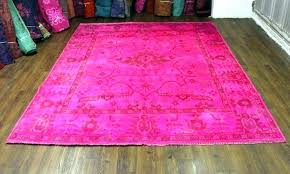 hot pin hot pink area rug new area rugs 8x10