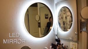 diy led lighting. diy vanity mirror w led lights cheap and easy tesiabeau diy led lighting g