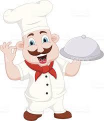 Chef Cuisinier De Dessin Anim Personnages Cliparts Vectoriels