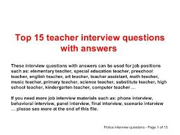 Assistant Principal Interview Questions And Answers Interview Materials Magdalene Project Org