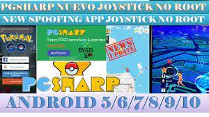 Pokemon GO + PGSHARP Nuevo Joystick NO ROOT + New Spoofing App Joystick NO  ROOT Android 5/6/7/8/9/10 - YouTube