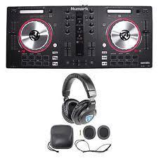 numark mixtrack pro numark mixtrack pro 3 serato dj usb midi controller mixtrack pro iii headphones