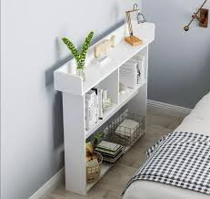 muji style slim spaces cabinet side
