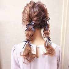 三つ編み ヘアアレンジ 結婚式 ロングcherie Hair Design Hiide