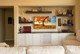 Built In Drywall Shelves Custom Media Walls Entertainment Centers Tcd Phoenix