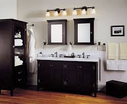 ikea lighting bathroom. Enchanting Lowes Lighting Bathroom Vanity Lights Ikea White Wall Black Cabinets Wooden Floor N