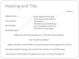 Mla Format For Essays Formatting For Essays Format Title Of Essay