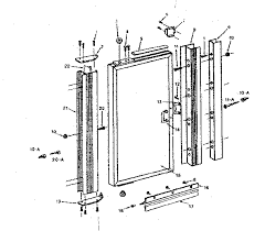 sliding glass door repair parts designs