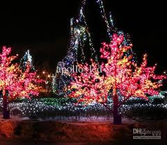 2m LED Landscape Tree Light Christmas Simulation Maple Tree Lamp Xmas Party  Wedding Outdoor Fairy String Landscape Tree Lighting