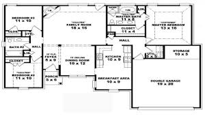 small floor plan 4 bedroom floor plans glitzdesign classic 4 bedroom house plans