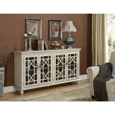 somette ivory four door media credenza view full size