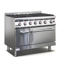 gas stove top burner. commercial 6 burner gas stove / cook top with oven (lpg)